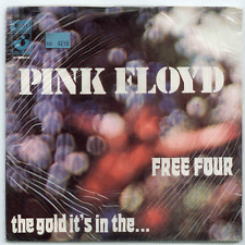 """45 RPM 7"""" Vinyl - Pink Floyd - Free Four / The Gold It's In the… STILL SEALED!!!"""