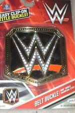 WWE WWF World Championship Title Belt Buckle. Brand New.  3+.  Be The Champion