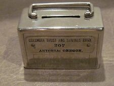 Columbia Trust and Savings Bank, Astoria,Oregon [Rare Coin Bank]