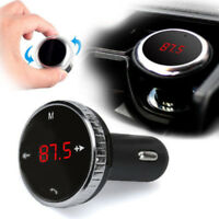 Wireless LCD Bluetooth Car USB Charger FM Transmitter Radio Adapter MP3 5V 2.1A