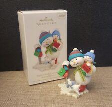 2010 Hallmark Keepsake Ornament SANTA'S WISH LIST LETTER Making Memories