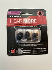 BRAND NEW COMPLY ISOLATION+ WAXGUARD PREMIUM EARPHONE TIPS T-200 S - L
