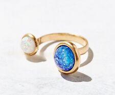 Urban Outfitters Damen Metallic kosmisch Liebe Ring NWT Größe 6