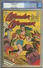 WONDER WOMAN #49 CGC 9.0 OW/WH PAGES // GOLDEN AGE + USED IN SOTI