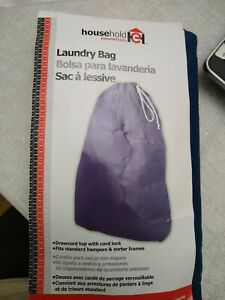 Jersey Cotton Laundry bag 24 x 36 drawcord Household Essentials