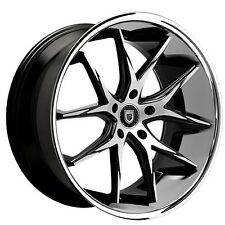 "4Rims 20"" Staggered Lexani Wheels R-Twelve BM W Chrome Lip Rims"