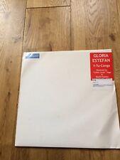 "gloria estefan 12"" vinyl record y tu conga white label promo"