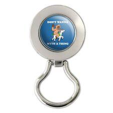Don't Wanna Myth Thing Unicorn Bigfoot Magnetic Eyeglass Badge Holder