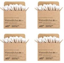 Hydrophil Wattestäbchen aus Bambus und Baumwolle - 400 Stück