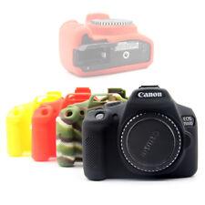 Silicio Gomma Custodia Protezione per Canon 1300D 1500D 2000D Rebel T6 T7 X80 X90