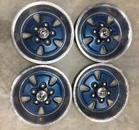 """1971 1972 1973 Ford Mustang 14"""" Hubcap Rim Wheel Cover Hub Cap OEM USED * READ*"""