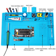 Heat Insulation Silicone Pad Soldering Repair Maintenance Work Desk Platform Mat