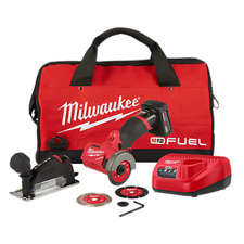 """Milwaukee MLW2522-21XC M12 Cordless 3"""" Compact Cut Off Tool Kit"""