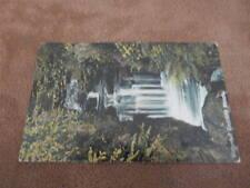 1911 Fr postcard - Waterfall - Endcliffe Woods - Sheffield