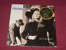 "In Tua Nua:  All I Wanted  (Poster sleeve)  7""    NEAR MINT VINYL  EX SHOP STOCK"