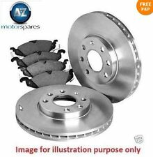 FOR AUDI A5 1.8i TFSi CABRIOLET 5/2009-> REAR BRAKE DISCS SET AND DISC PADS KIT