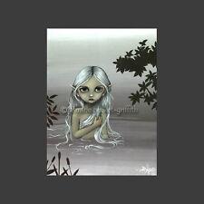 Argenté de baignade Nymphe Imprimer Par Jasmine Becket-Griffith