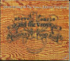 STEVE EARLE Johnny too bad w/ 2 RARE MIXES & RARE TRK UK CD single SEALED 1996