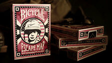 ESCAPE MAP Bicycle deck playing cards games original artwork World War 2 design