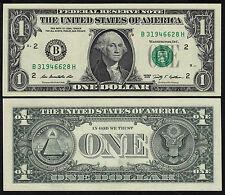 "United States 1 Dollar 2009 UNC P 530 "" B "" New York UNC Low Shipping!"