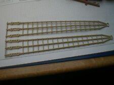 2 x schmale  3er Wanten  fürs Piratenschiff 3750 und andere /  Playmobil.
