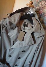 Neu Original BURBERRY Luxus Trenchcoat Mantel Jacke GR: S 48 Beige / House Check