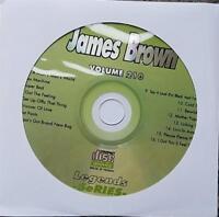LEGENDS KARAOKE CDG JAMES BROWN #210 OLDIES R&B SOUL 16 SONGS LIVIN IN AMERICA
