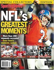 SPORTING NEWS not Sports Illustrated 2005 NFL 200 GREATEST John Elway NEWSSTAND