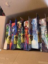 Marvel Legends Iron man complete lot BAF Ursa Major 6 Figures. NIH !