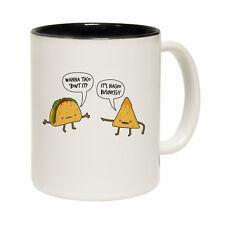 Funny Mugs - Wanna Taco Bout It - Joke Kitchen NOVELTY MUG secret Santa