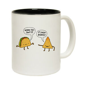 Funny Mugs - Wanna Taco Bout It - Joke Kitchen NOVELTY MUG secret Santa
