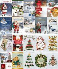 100 Weihnachtskarten Postkarten Neujahrskarten Grußkarten Weihnachten 22-1005