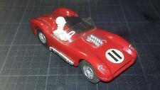 Vintage CIRCUIT 24 - Ferrari TR 60 - rouge n°11 - slot car - moteur fonctionnel