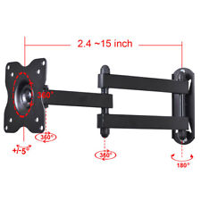 "LED LCD TV Monitor Wall Mount for VIZIO 19"" 22 23 24 26 28 29"" Tilt Swivel W2A"