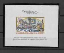 1962 MNH Tschechoslowakei Mi block 16B