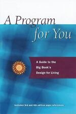 A Program for You : A Guide to the Big Book's Design for Living by Carolyn...