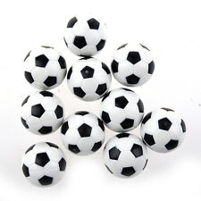 10pcs 32mm Plastic Soccer Table Foosball Ball Football K4B9