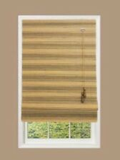 """Home Decorators Collection NATURAL ROMAN MOSS MULTI-WEAVE BAMBOO SHADE 34""""x 72"""""""