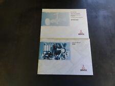 Deutz B/FM 1008 Spare Parts Catalog and Operation Manual