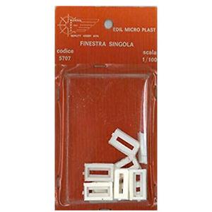 FINESTRA SINGOLA SC. 1/100 RICAMBIO MANTUA 5707 EDIL MICRO PLAST MODELLISMO 10