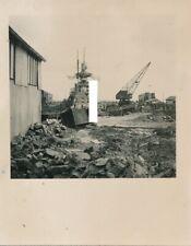 Brest ? Kriegsmarine Kriegsschiff schwerer Kreuzer Admiral Hipper im Dock 1941 2