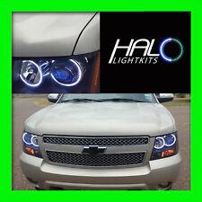 2007-2014 CHEVY TAHOE White Plasma Headlight Halo Ring Kit by Oracle Lighting