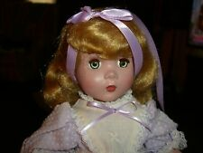 Hard Plastic Vintage Doll Pretty Pink Tint - Good Condition! unknown maker