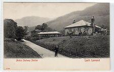 ARDLUI RAILWAY STATION, LOCH LOMOND: Dunbartonshire postcard (C14456)