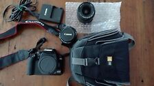 Canon  EOS 1000D Digital SLR Camera (with 18-55 mm and 50 mm 1.8 lenses) + bag