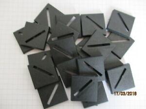 20mm Square Plastic Bases Slotta Warhammer 40k Wargame Roleplaying figures
