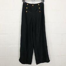 Lauren Ralph Lauren Plus Size Wide Leg Drawcord Linen Pants | Dillard's