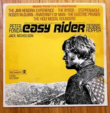 EASY RIDER OST Various Artists DUNHILL/ABC LP VINYL VG++ 1D #DSX 50063