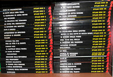 DYLAN DOG Book Sequenza Completa da 1 a 50 + 100 a Colori + Super Book 1 Bonelli