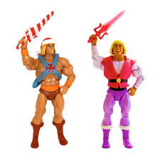 Holiday He-Man Bundle with Laughing Prince Adam Masters of the Universe Super 7